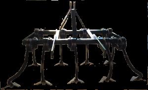 Cultivador de 2 filas y 9 brazos